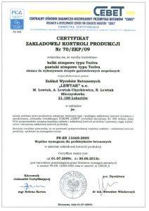 certyfikacja materiałów budowlanych